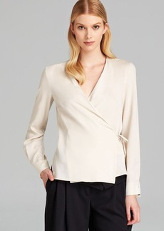 Max Mara Shirt - Selce V Neck Wrap