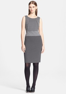 Max Mara 'Siena' Colorblock Knit Sheath Dress