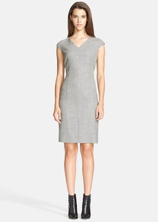 Max Mara 'Siesta' Wool Blend Sheath Dress