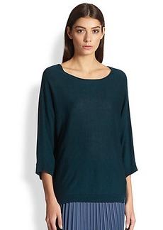 Max Mara Silk Cashmere Dolman Sweater