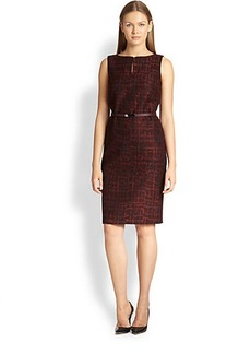 Max Mara Soave Jacquard Dress