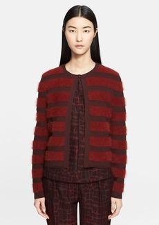 Max Mara 'Spluga' Stripe Knit Cardigan