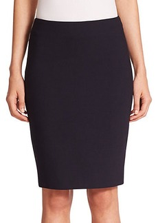 Max Mara Stretch Wool Pencil Skirt