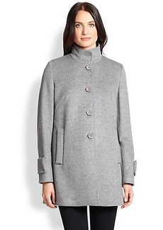 Max Mara Studio Wool Walking Coat