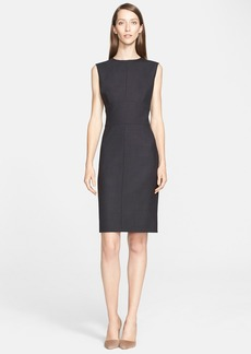 Max Mara 'Tambuto' Stretch Wool Sheath Dress