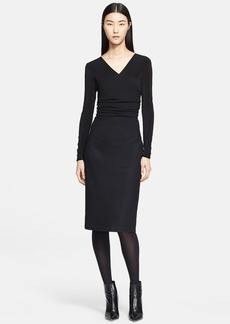 Max Mara 'Tenente' Mixed Jersey Dress