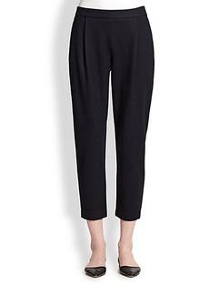Max Mara Terni Wool Jersey Cropped Pants