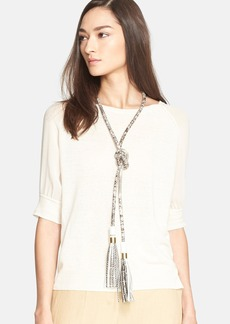 Max Mara 'Tisbe' Snakeskin Necklace/Belt