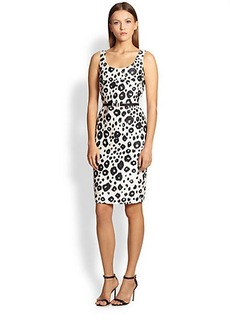 Max Mara Trani Cheetah-Print Sheath