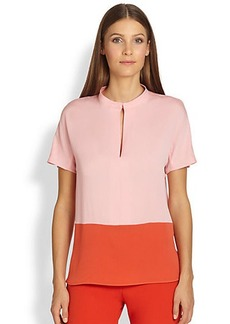 Max Mara Two-Tone Hardy Blouse