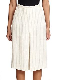 Max Mara Utilita Striped Linen Culottes