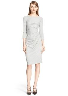 Max Mara 'Valzer' Ruched Jersey Dress