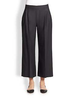 Max Mara Wool & Silk Ankle Pants