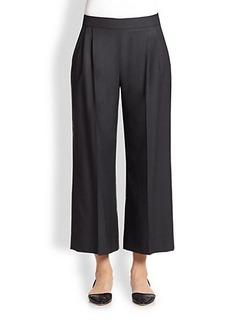 Max Mara Wool & Silk Ankle Pants