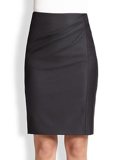 Max Mara Wool & Silk Suiting Skirt