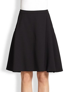 Max Mara Wool A-Line Skirt