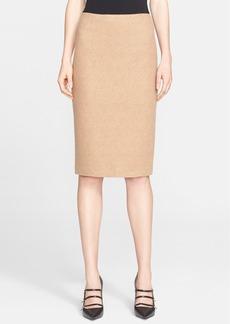Max Mara 'Zanzara' Wool Jersey Skirt