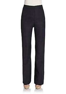 MaxMara Alessia Wool & Silk Trousers