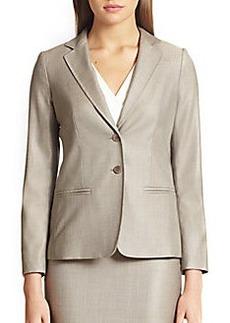 MaxMara Goccia Wool & Silk Jacket