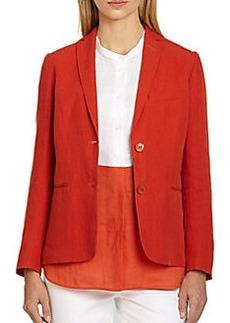 MaxMara Linen Jacket