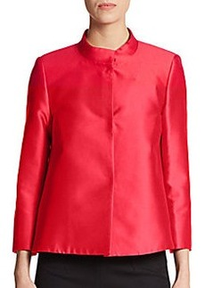 MaxMara Silk-Mikado Jacket