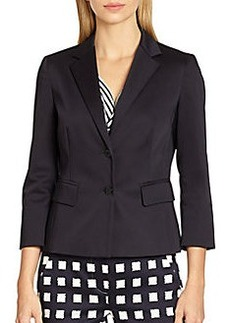 MaxMara Stretch Cotton Jacket