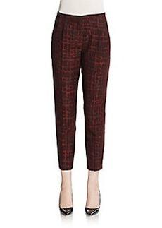MaxMara Waldorf Brick Jacquard Pants