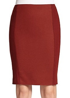 MaxMara Zaffo Bicolor Pencil Skirt