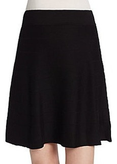 Max Studio A-Line Sweater Skirt