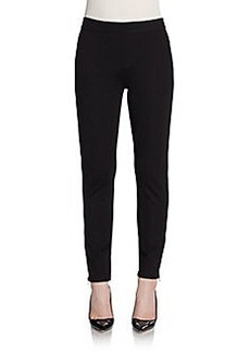 Max Studio Ankle-Zip Skinny Pants