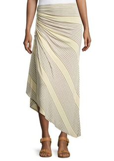 Max Studio Braided and Ruched Skirt