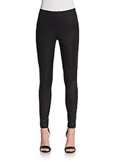 Max Studio Coated Skinny Pants
