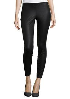 Max Studio Faux-Leather Skinny-Leg Pants