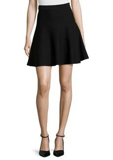 Max Studio Stretch-Knit Circle Skirt