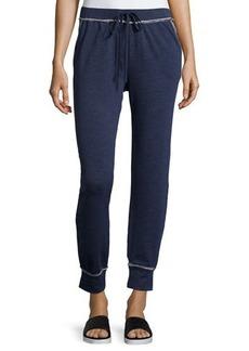 Max Studio Weekend Terry-Lined Jersey Sweatpants