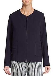 Max Studio Zip-Front Jacket