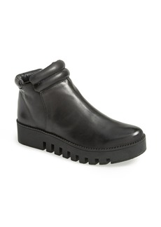 MAXSTUDIO 'Grable' Waxed Leather Bootie (Women)