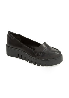 MAXSTUDIO 'Graham' Waxed Calf Leather Loafers (Women)