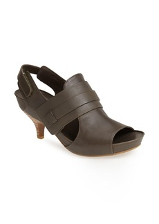 MAXSTUDIO 'Marcel' Leather Kitten Heel Sandal (Women)