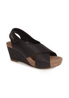 Mephisto 'Belina' Slingback Wedge Sandal (Women)