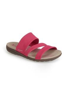 Mephisto 'Ebony' Nubuck Slide Sandal (Women)