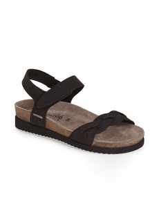 Mephisto 'Honoria' Nubuck Leather Sandal (Women)
