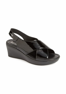 Mephisto 'Petra' Patent Leather Sandal