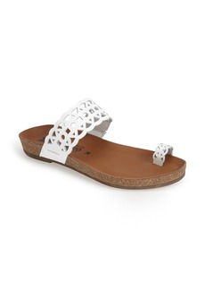 Mephisto 'Valia' Cutout Toe Loop Sandal (Women)
