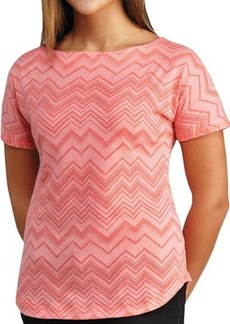 Merrell Awenda Shirt - Boat Neck, Short Sleeve (For Women)