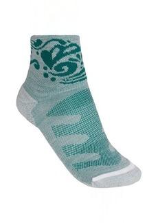 Merrell Crest Running Socks - Wool Blend, Quarter-Crew (For Women)
