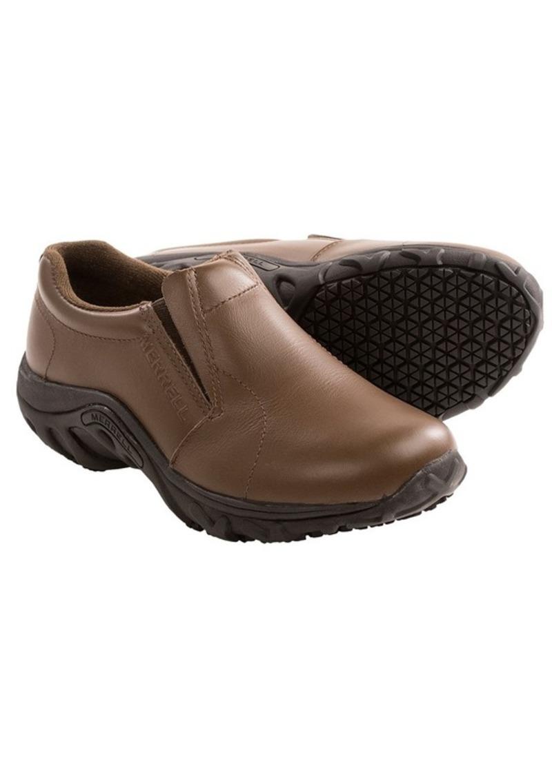 merrell merrell jungle moc pro grip work shoes slip ons