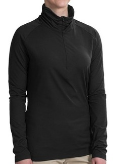 Merrell Lauley Zip Neck Shirt - UPF 30+, Long Sleeve (For Women)