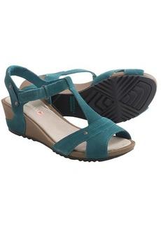 Merrell Revalli Link Sandals - Suede, Wedge Heel (For Women)