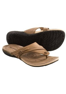 Merrell Whisper Flip-Flop Sandals - Leather (For Women)